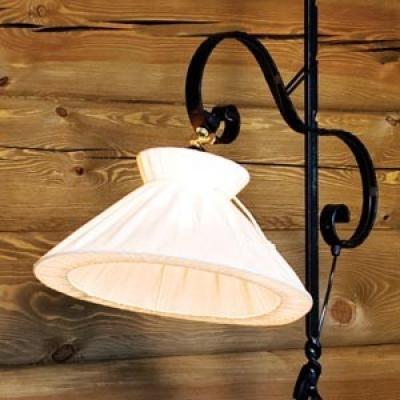 Tveit Smie - Lampeskjerm med bomullssnor